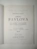 Représentations de Anna Pavlova. Programme  mai1928. Théâtre des Champs-Elysées