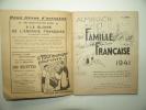 Almanach de la famille française.1941.