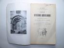 Petit répertoire archéologique des édifices religieux du diocèse actuel de Blois. Pilté E.