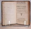 La Ligue ou Henry le Grand, poëme épique.. VOLTAIRE (François Marie Arouet dit).