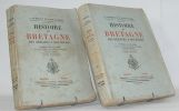 Histoire de Bretagne des origines à nos jours.. [BRETAGNE] DURTELLE DE SAINT-SAUVEUR (E.).