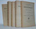 Catalogue de la bibliothèque de la Ville d'Alençon par Edmond Richard.. [BIBLIOTHEQUE D'ALENCON].