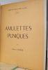 Amulettes puniques.. [TUNISIE] CINTAS (Pierre).