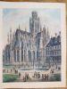 St OUEN - Rouen. From the garden.. CONEY (John).