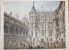 Rouen - Hôtel du Bourgtheroude (sic). Court Yard.. CONEY (John).