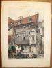 Vue des Restes de l'Abbaye de St Amand à Rouen, dans leur état actuel (1840).. [ROUEN] VILLENEUVE.