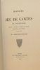 Histoire du Jeu de Cartes en Normandie.. CHANOINE-DAVRANCHES (L.).