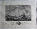Le Port de Rouen vu de l'Isle de la Croix.. [ROUEN] OZANNE (Nicolas).