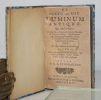 De cultu ac usu Luminum antiquo. Qui qualis fuerit in omnibus antiquorum sacris, delubris, oraculorum antris, consecrationibus, auguries, ...