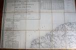 Département de la Seine Inférieure - Extrait de la Carte topographique de la France, levée par les officiers d'Etat-Major et gravée au Dépôt général ...