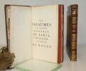 Les Oeuvres de M. Honorat de Beuil...(Les Pseaumes, Les Bergeries, les Odes ..).. BEUIL ( Honorat de, Chevalier, Seigneur de Racan).