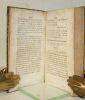 Correspondance philosophique de Caillot Duval, Rédigée d'après les Pièces originales, et publiée par une Société de Litterateurs Lorrains.. [BOISGELIN ...