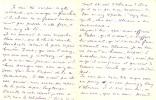 Lettre autographe signée, 7 juillet 1919, à Maurice Bernhardt ; 3 pages et demi (181 x 137), pliure au centre du document.. CARRÉ, Michel-Antoine.