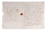 L.A., Londres 3 février 1700, à monsieur Labé de Hautefeuille. SAINT-EVREMOND, Charles Le Marquetel de Saint-Denis, seigneur de.