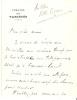 4 L.A.S., à Victor Ullmann, Antibes, (1928).. MAUREY Max (1866-1947), auteur dramatique français, directeur du Théâtre des Variétés.