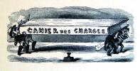 Cahier des charges des chemins de fer. Pamphlet illustré.. BERTALL