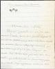 L.A.S, sans date [entre 1916 et 1923], à René Doumic; 3 pages in-8 sur papier à lettre bordé de noir portant sa devise «mon mal j'enchante».. LOTI, ...