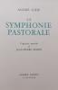 La symphonie pastorale.. GIDE (André) / REMON (Jean-Pierre)