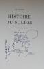 Histoire du soldat.. RAMUZ (Charles Ferdinand) - ERNI (Hans)