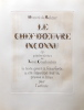 Le Chef-d'Oeuvre inconnu.. [COURBOULEIX] - BALZAC (Honoré de)