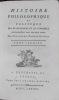 Histoire philosophique et politique des Etablissements et du Commerce des Européens dans les deux Indes.. RAYNAL (Guillaume Thomas François, abbé de)