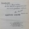 Gaston Couté.. [COUTE (Gaston)] - LANOIZELEE (Louis)