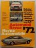 Automobil Revue. Katalognummer - Revue Automobile. Numéro catalogue. 1972.. REVUE AUTOMOBILE