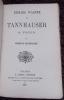 Richard Wagner et Tannhauser à Paris.. BAUDELAIRE (Charles)