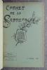 CARNET DE LA SABRETACHE. REVUE MILITAIRE RETROSPECTIVE PUBLIEE PAR LA SOCIETE «LA SABRETACHE». CINQUIEME VOLUME – 1897. .