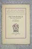BÂTON ROUGE. FRONTISPICE DE J. E. LABOUREUR.. MORAND PAUL. (1888-1976).