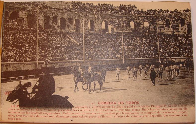 CORRIDAS DE TOROS..