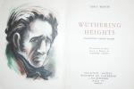 WUTHERINGS HEIGHTS. TRADUCTION D'HENRI PICARD. DIX HORS TEXTE EN COULEURS, IN-TEXTE ET BANDEAUX DE JACQUES CAMUS. PARIS. EDITIONS DU PANTHEON. 1948. ...