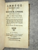 ABREGE ELEMENTAIRE DE LA GEOGRAPHIE UNIVERSELLE DE L'ESPAGNE ET DU PORTUGAL, DANS LEQUEL ON TROUVE TOUT CE QUE CES ROYAUMES RENFERMENT DE PLUS CURIEUX ...