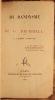 DU DANDYSME ET DE G. BRUMMEL, PAR J. A. BARBEY D'AUREVILLY. . BARBEY D'AUREVILLY (JULES AMEDEE. 1808-1889).