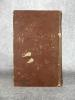 CURIOSITES DE LA LITTERATURE, TRADUCTION DE L'ANGLAIS PAR M T. P. BERTIN SUR LA CINQUIEME EDITION. . DISRAELI ISAAC. (1766-1848).