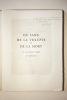 DU SANG, DE LA VOLUPTE ET DE LA MORT. LITHOGRAPHIES DE YVES BRAYER.. BARRES MAURICE (1862-1923).