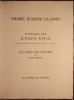PAYSAGES DES ETATS-UNIS. TREIZE LITHOGRAPHIES ORIGINALES AU REPERAGE. LE LIEU ET L'ETRE PAR JOHN BROWN.. CLAIRIN PIERRE-EUGENE (1897-1980). BROWN ...