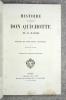 HISTOIRE DE L'ADMIRABLE DON QUICHOTTE DE LA MANCHE, TRADUCTION NOUVELLE. ILLUSTRE DE 28 GRANDES LITHOGRAPHIES. . CERVANTES. (MIGUEL DE. 1547-1616).