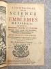 ICONOLOGIE OU LA SCIENCE DES EMBLEMES, DEVISES, &C. QUI APPREND A LES EXPLIQUER, DESSINER ET INVENTER. OUVRAGE TRES UTILE AUX ORATEURS, POETES, ...