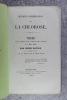 QUELQUES CONSIDERATIONS SUR LA CHLOROSE. THESE PRESENTEE ET PUBLIQUEMENT SOUTENUE A LA FACULTE DE MEDECINE DE MONTPELLIER LE 3 MAI 1858 PAR HENRI ...