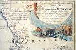 GENERAL CHARTE VOM KONIGREICH DAENEMARK NEBST DEM HERZOGTHUM HOLSTEIN NACH DEN BESTEN ASTRONOMISCHEN BEOBACHTUNGEN UND DEN SPECIAL  CHARTENVON WESSEL, ...