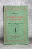HISTOIRE DE L'INQUISITION AU MOYEN-AGE. ORIGINES DE L'INQUISITION DANS LE MIDI DE LA FRANCE. CATHARES ET VAUDOIS. . GUIRAUD JEAN. (1866-1953).