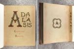 ADALASIS COMTESSE DE BURLATS. LA CANSON D'ADALASIS. .