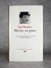 OEUVRES EN PROSES. I. TEXTES ETABLIS, PRESENTES ET ANNOTES PAR MICHEL DECAUDIN. . APOLLINAIRE GUILLAUME (1880-1918).