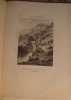 VUES DE LA SUISSE. CHUTE INFERIEURE DU REICHEINBACH. CANTON DE BERNE. CT BOURGEOIS. 1822. LITH. DE DELPECH. . BOURGEOIS CONSTANT (1767-1841) ET ...