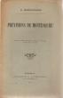 PREVISIONS DE MONTESQUIEU. EXTRAIT DE LA REVUE PHILOMATIQUE DE BORDEAUX ET DU SUD-OUEST, X° ANNEE, N° 6, 1° JUIN 1907. BORDEAUX. GOUNOUILHOU. 1907.. ...