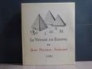 Le Voyage En Egypte de Jean PALERNE, Forésien. 1581.. PALERNE Jean
