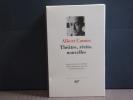 Théâtre - Récits - Nouvelles.. CAMUS Albert