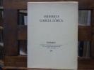 POEMES. Choisis et traduits par Guy LEVIS MANO avec le texte espagnol et des dessins de LORCA.. GARCIA LORCA Federico