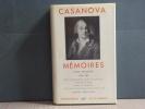 Mémoires. Tome II ( 1756-1763 ).. CASANOVA